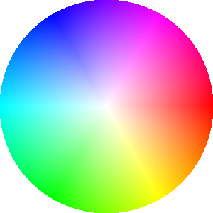 A perfect color wheel.
