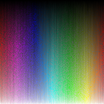 Colors, sorted by luminance.