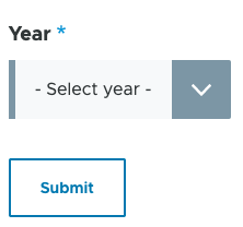 Drupal date picker select elements with year not selected.