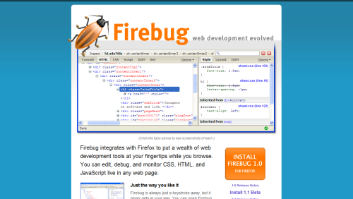 Firefox JavaScript Debugging And Development With Firebug